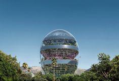 MAD Architects представили план нового проекта — офисного здания в Голливуде. Команда студииMAD Architects .