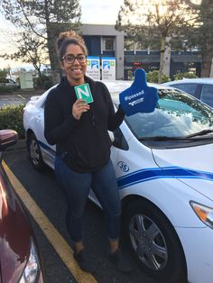 Congratulations on a successful road test, Richelle! 🚙🚙 The open road awaits for you to explore! #ipassed #SuccessSaturday #newdriver #learnwithvalley