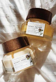 Farmacy Honey potion face mask and Honey drop moisturizer #skincare #facemask #moisturizer