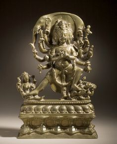 9th-10th-c-kashmir-chakrasamvara-brasssil-c-inlay-or-8th-lacma.jpg (374×460)