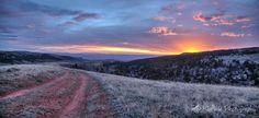 Backside Sunset