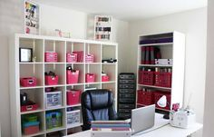 office+organization | Small Office Organization Ideas With White Walls