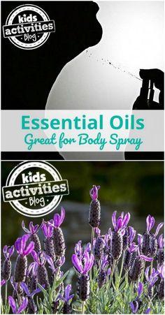 Essential Oil Body Spray
