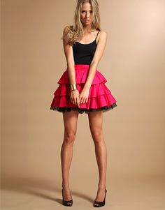 Three-tierd skirt/petticoat pattern and instructions for homemade costumes or cosplay