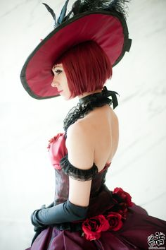 Madam Red cosplay by Bur Loire | Black Butler beautiful she's one of my fav caritors