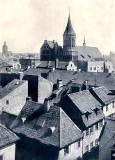 Königsberg Pr.         Blick über die Dom-Insel