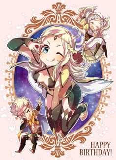 Fire Emblem - Odin, Ophelia and Lissa