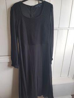 092378e3c38 Y.A.S Stabby crochet lace trim dress en 2019 | Workwear | Crochet lace,  Lace trim y Lace