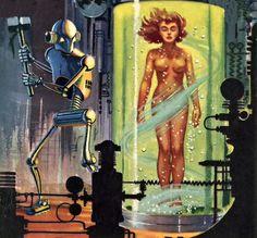 Ed Valigursky - The girl in tube 14, 1955