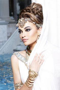 Ancient Greek fashion photo shoot | Miss Nevada USA 2012