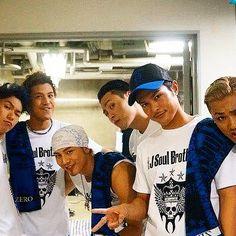 Imaichi Ryuji & Tosaka Hiroomi &  Iwata Takanori & Yamashita Kenjiro & Elly & Naoto & Sandaime J Soul Brothers