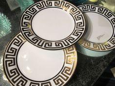 greek key plates