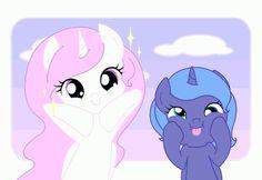 my little pony princess luna and celestia - Google Search