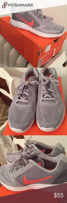 New! Nike women's revolution 3 Nike women's revolution 3 sneakers. Brand new worn once! Nike Shoes Athletic Shoes