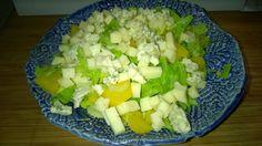 Tupun tupa: Hedelmäinen juustosalaatti