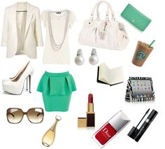 """""""Cute Office Outfit"""" by stephymarie88 on Polyvore"""
