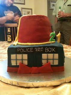 Doctor Who Cake by dragonseeker26 on deviantART