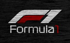 Download wallpapers 4k, Formula 1, new logo, wooden texture, F1 new logo, F1, black backgroud, Formula 1 new logo, Formula 1 2018, new logo of f1