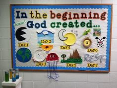 Creation Bulletin Boards, Religious Bulletin Boards, Bible Bulletin Boards, Christian Bulletin Boards, Preschool Bulletin Boards, Bullentin Boards, Sunday School Rooms, Sunday School Classroom, Sunday School Lessons