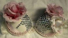 romantic ballet pink flower bra 65 00 via etsy