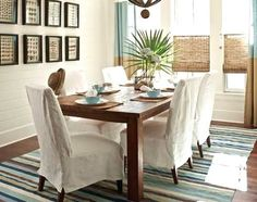 Coastal Style dining Room Furniture | ... Furniture 101 -Sofas & Chairs for Easy Coastal Style Living
