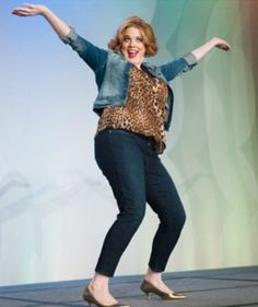 Silence Your Inner Critic And Embrace Your Beauty!  A recap of the BlogHer '13 Fashion Show.