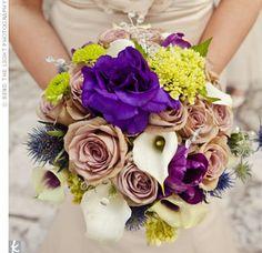 Vintage-inspired Wedding Bouquet