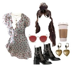 19:30 pm by georgia78 on Polyvore featuring polyvore fashion style Jil Sander Dolce&Gabbana Charlotte Russe Ray-Ban clothing