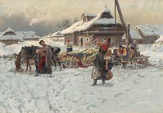 Guľovanie by Jaroslav Věšín, 1892. Slovak national gallery, CC BY