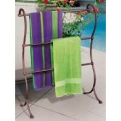 Pool Towel Drying Rack Custom A Vintage Ladder Repurposed Into A Pool Towel Drying Rack  Upcycled Design Ideas
