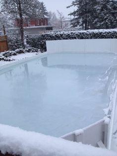 Nov 20th, 2014, at the Winchester Invitational Backyard Ice Hockey Rink.