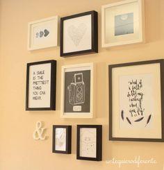 DIY: He decorado mis paredes | Aprender manualidades es facilisimo.com