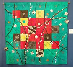 From the Tokyo Quilt Festival. Love the colors.