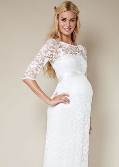 The 36 best Maternity Bridalwear for Pregnant Brides images on ...
