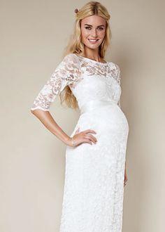 Gorgeous Wedding Dresses For Pregnant Brides