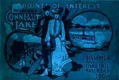 From a 1903 pamphlet by the Bessemer Railroad which had a controlling interest in Exposition Park and a train stop immediately at the park. Relationships between the railroads and resorts like Exposition park were common at this time  since they were mutually beneficial and profitable for obvious reasons. The last train traveled to the park in 1971. Even though the tracks have been removed at the park, their footprint can still be seen through aerial views of the park via Google.