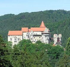 Pernstejn Castle, Nedvedice, South Moravian Region, Czech Republic - www.castlesandmanorhouses.com