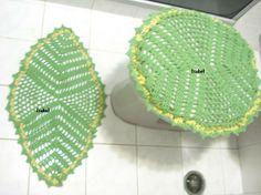 Banheiro verde!