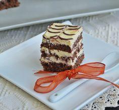Prajitura cu blat de cacao si crema de mascarpone - Rețete Papa Bun Food Cakes, Tiramisu, Cake Recipes, Sweets, Cooking, Ethnic Recipes, Desserts, Jasmine, Mascarpone