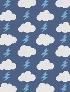fabric by Aimee Wilder - rainbolts