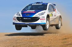 peugeot 208 with SanremoCorse 15 wheels for gravel rally - EVO Corse Racing Wheels #evocorse #racing #wheels #madeinitaly #peugeot208 #rally #gravel #rallygravel