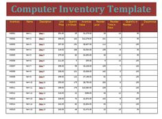 This Inventory Template Helps You To Calculate And Manage Your