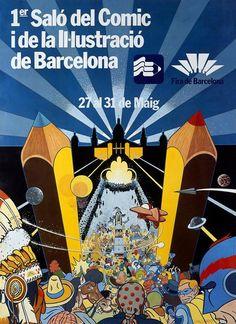 - 1981 I Saló Internacional del Cómic i de la Ilustració de Barcelona, 7.000 m2 (12.000 vst.) 17.12.2016 CdC