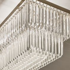 Close-up of a murano glass chandelier in our Bayswater project.