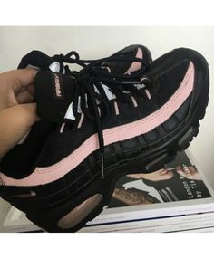 buy popular 76665 5b074 Nike Air Max 95 Black Pink Womens Trainers Clearance Air Max 95 Pink, Cheap  Air