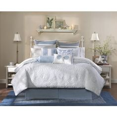 Shop for Harbor House Crystal Beach 4-piece Comforter Set. Get free shipping at Overstock.com - Your Online Fashion Bedding Outlet Store! Get 5% in rewards with Club O!