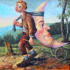 Surrealism and Visionary art: Dariusz Miliński