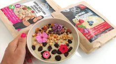 Fehérjés-pudingos zabkása Acai Bowl, Oatmeal, Breakfast, Free, Acai Berry Bowl, The Oatmeal, Morning Coffee, Rolled Oats, Overnight Oatmeal