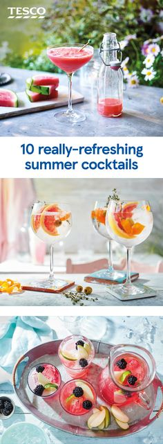9 Best Summer Cocktails Tesco Ireland Images In 2014 Cocktail