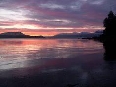 Sunset from Fort Abercrombie State Park Kodiak Alaska, State Parks, Serenity, Celestial, Explore, Sunset, Travel, Outdoor, Outdoors